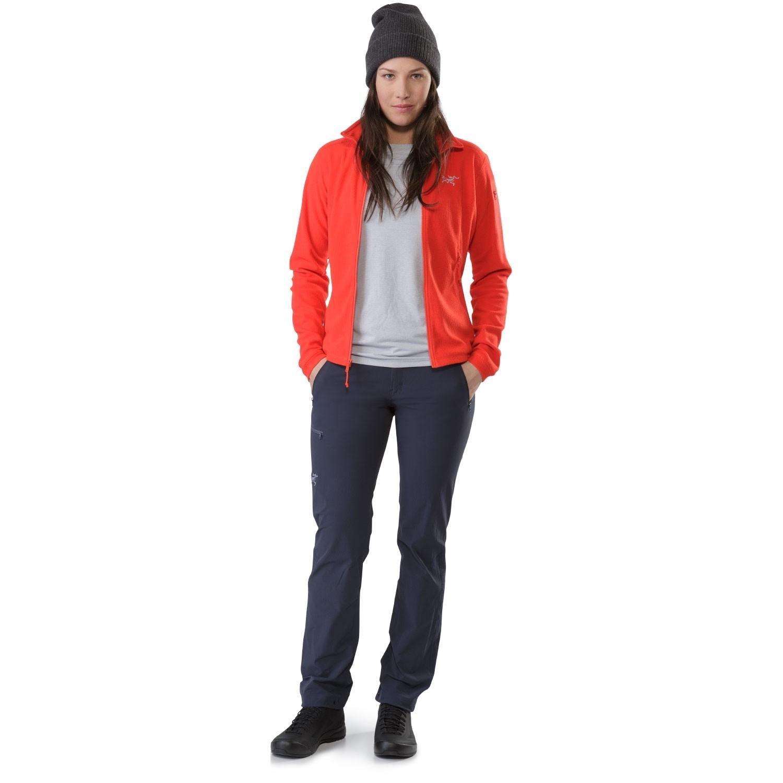 Arc'teryx Delta LT Women's Fleece Jacket - Hard Coral - front view