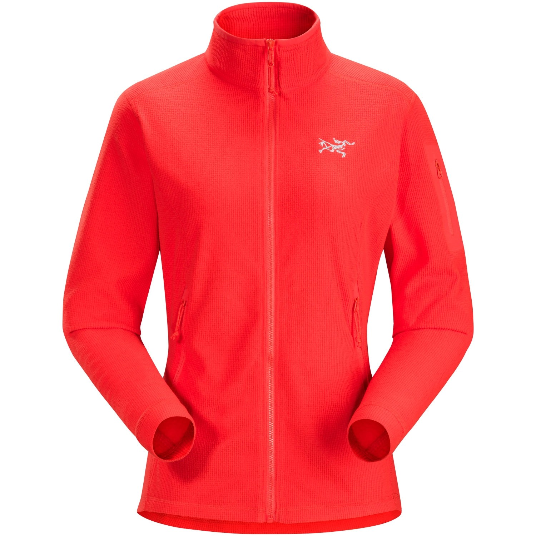 Arc'teryx Delta LT Women's Fleece Jacket - Hard Coral