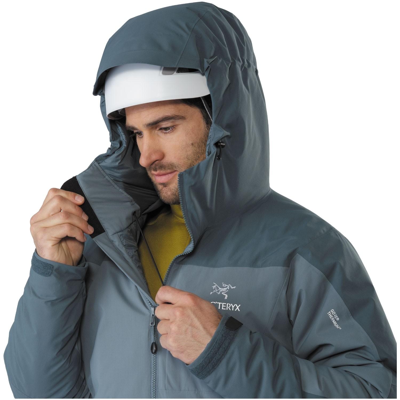 Arc'teryx Kappa Men's Insulated Hoody - Proteus - hood