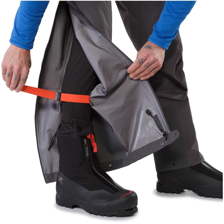 Arc'teryx Alpha AR Pants - Pilot - Leg wrap system