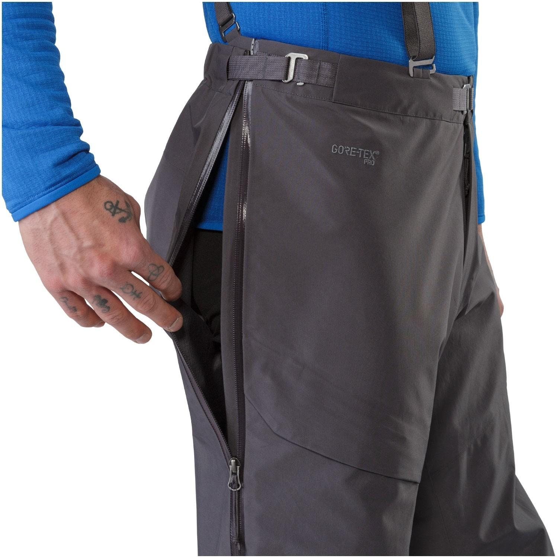 Arc'teryx Alpha AR Pants - Pilot - side zips