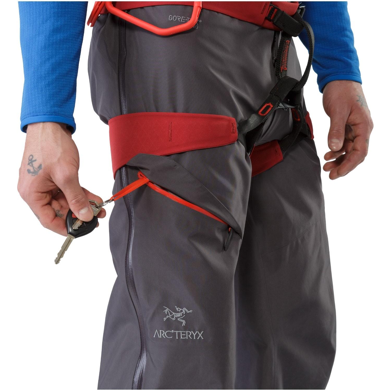 Arc'teryx Alpha AR Pants - Pilot - zipped pocket