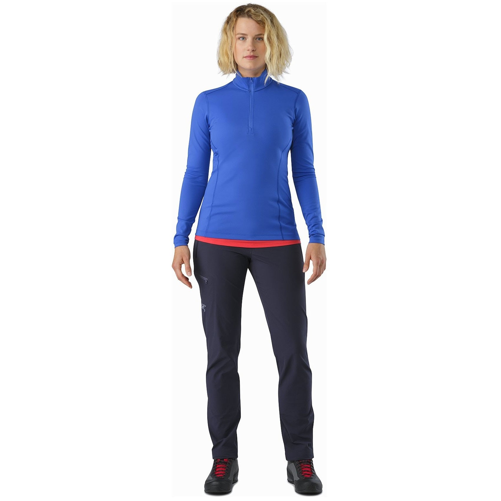Arc'teryx Gamma LT Women's Softshell Pant - Black Sapphire - front view