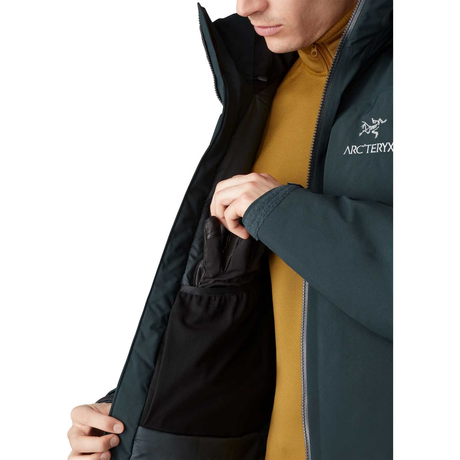 Arc'teryx Fission SV GTX Jacket - Men's - Enigma
