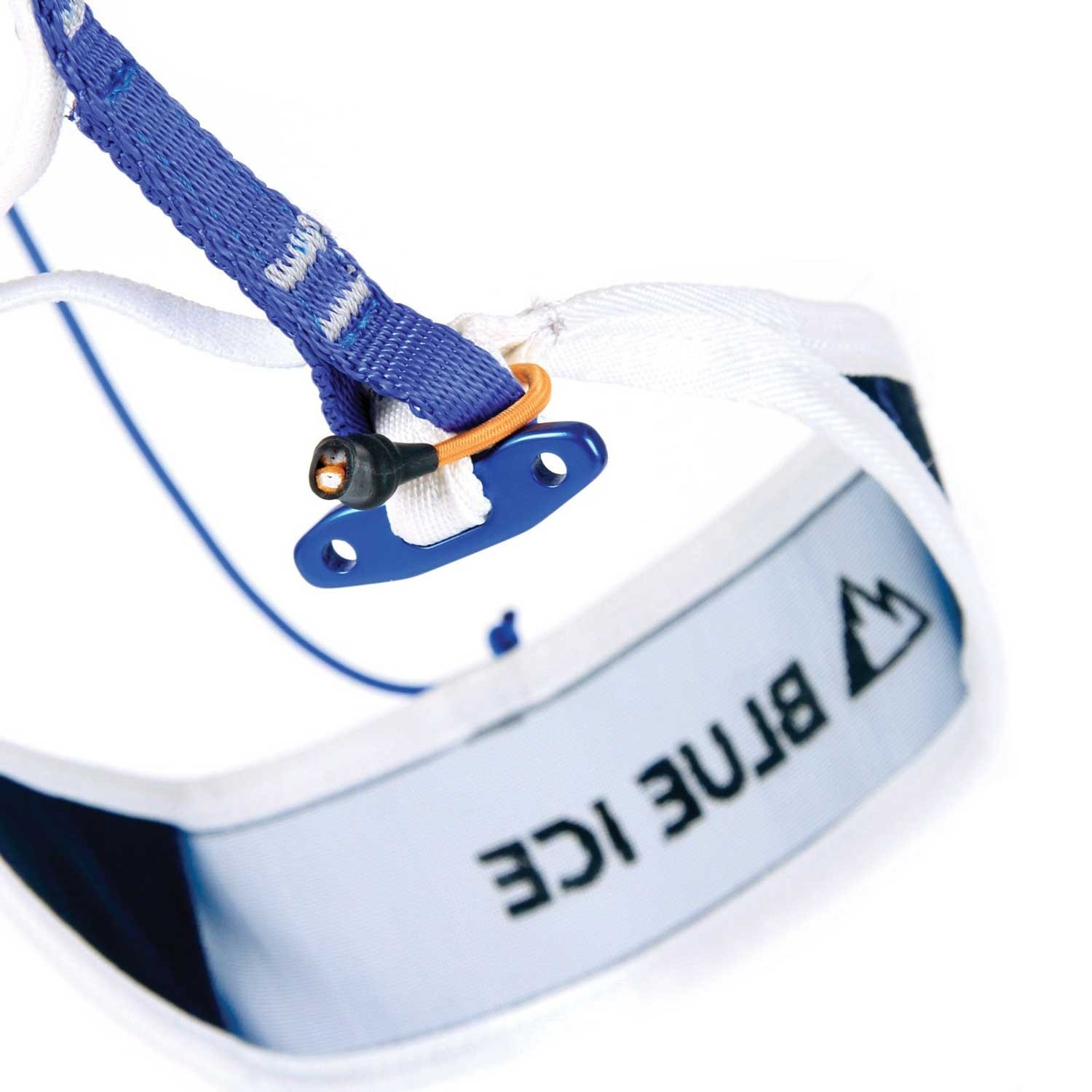 Blue Ice Choucas Pro Climbing Harness - White