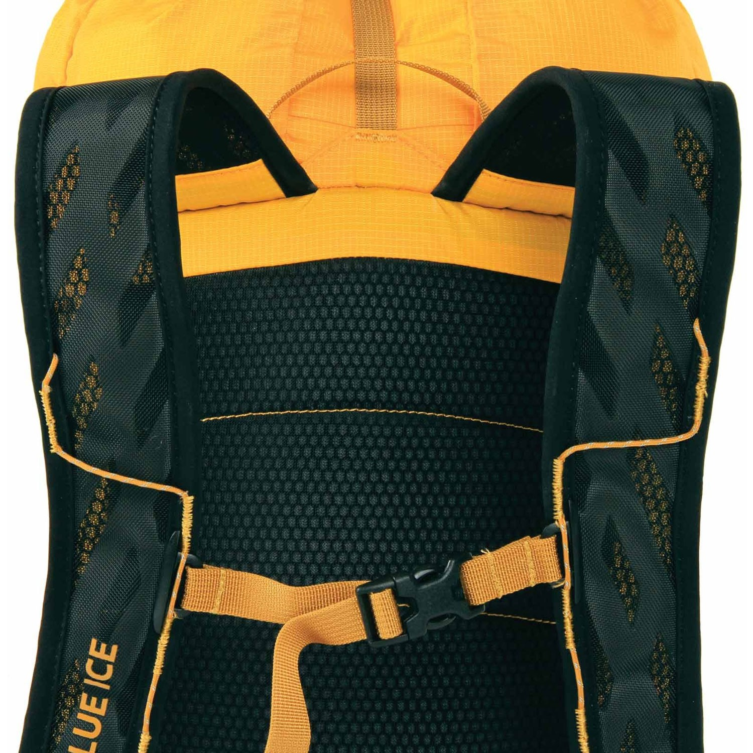 Blue Ice Dragonfly 25L Rucksack - Spectra Yellow - suspension
