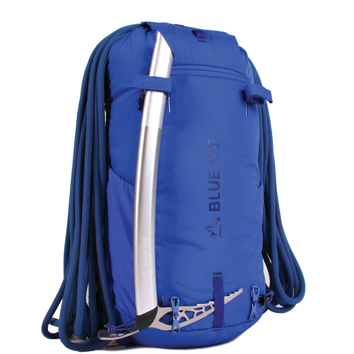 Blue Ice Dragonfly 25L Rucksack - Turkish Blue - ice axe