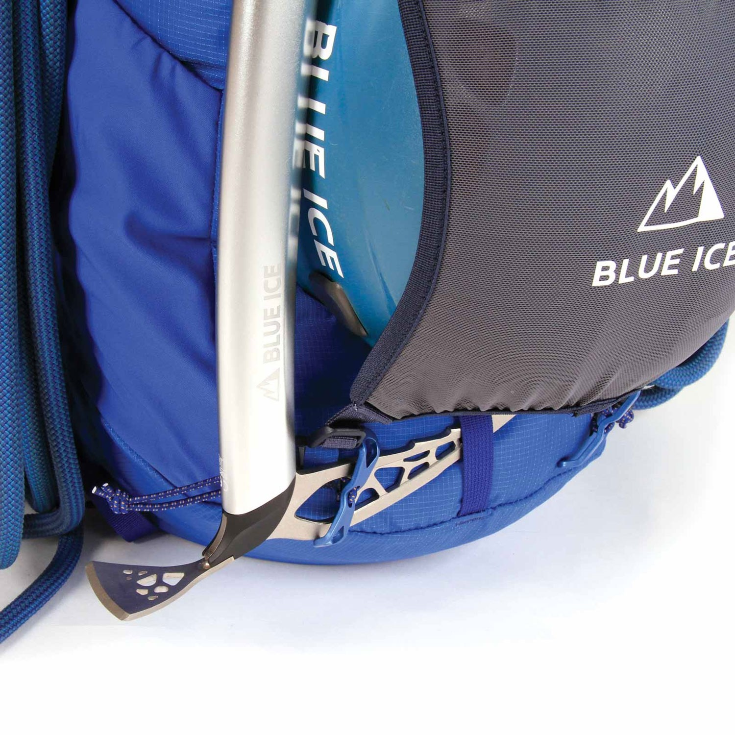 Blue Ice Dragonfly 25L Rucksack - Turkish Blue - Ice axe buckle