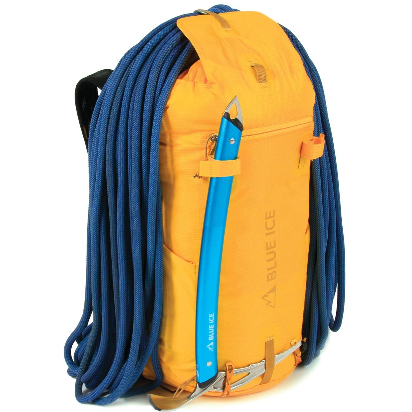 Blue Ice Dragonfly 25L Rucksack - Spectra Yellow - ice axe rope