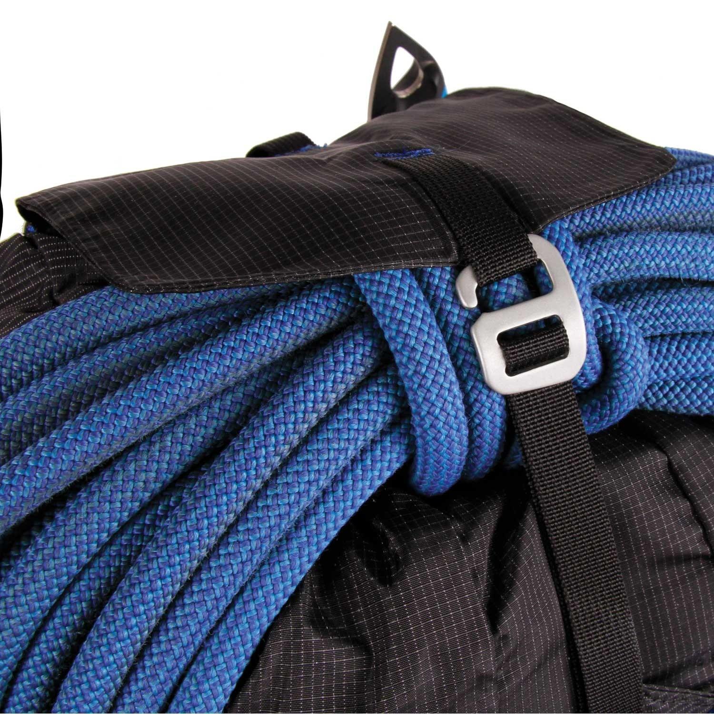 Blue Ice Dragonfly 25L Rucksack - Black - rope holder