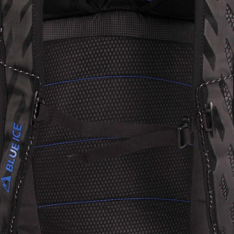 Blue Ice Dragonfly 25L Rucksack - Black - suspension