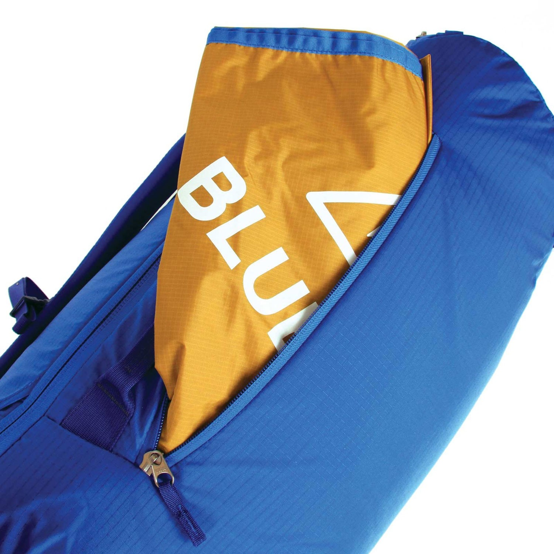 Blue Ice Octopus 45L Rucksack - Turkish Blue - tarp pocket