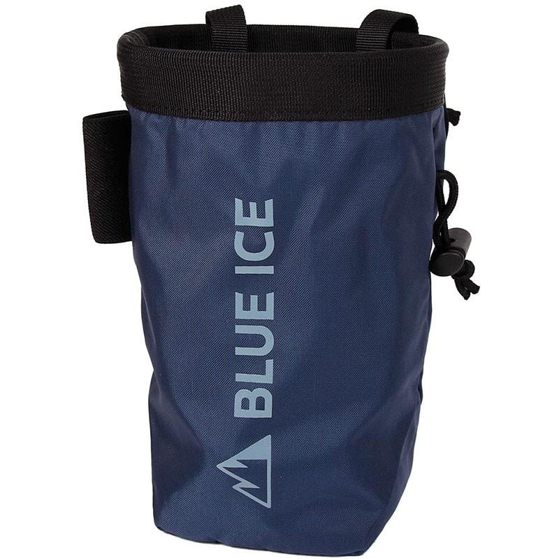 Blue ice Saver Chalkbag - Ensign Blue
