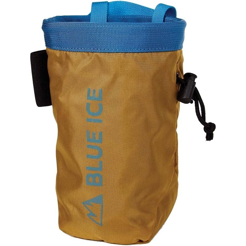 Blue ice Saver Chalkbag - Yellow Mustard
