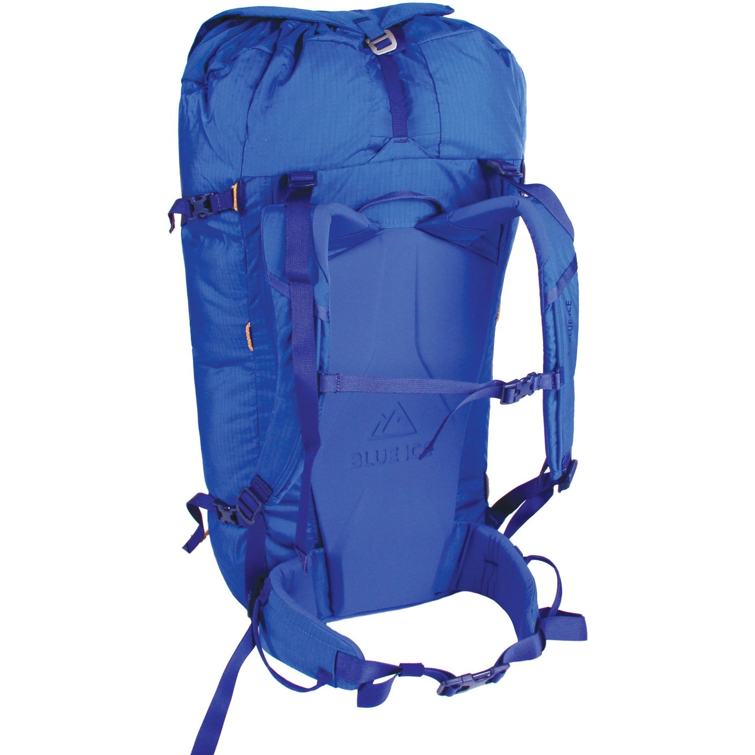 Blue Ice Warthog 45L Rucksack - Turkish Blue - back
