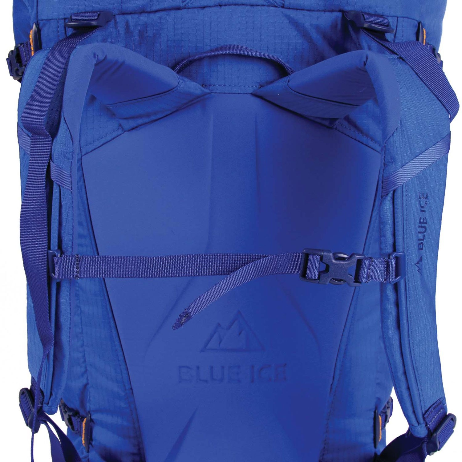 Blue Ice Warthog 45L Rucksack - Turkish Blue - suspension