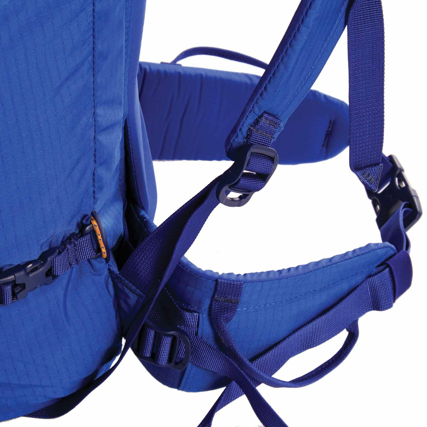 Blue Ice Warthog 45L Rucksack - Turkish Blue - waist belt
