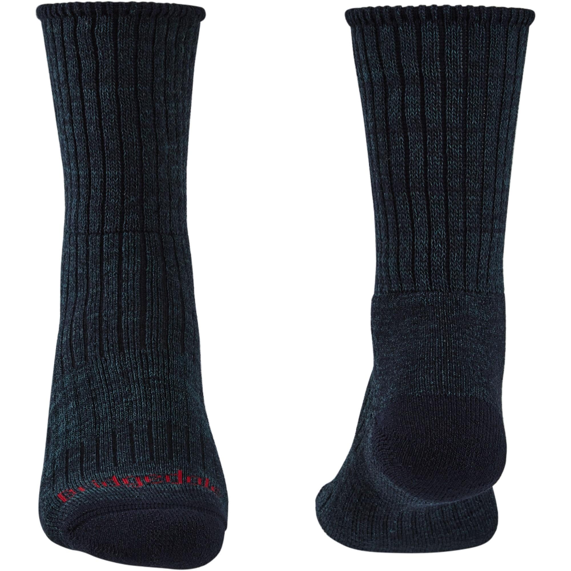 Bridgedale Hike Midweight Merino Comfort Men's Socks - Navy