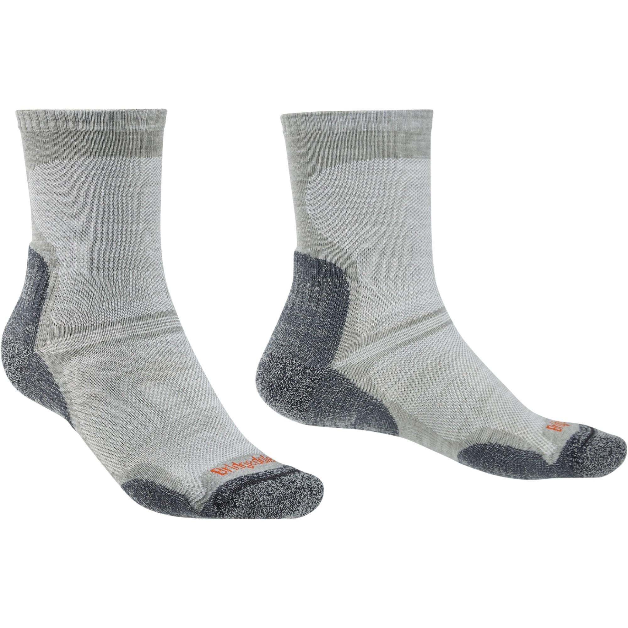 BRIDGEDALE - HIKE Ultra Light Merino Endurance Men's Sock - Gunmetal