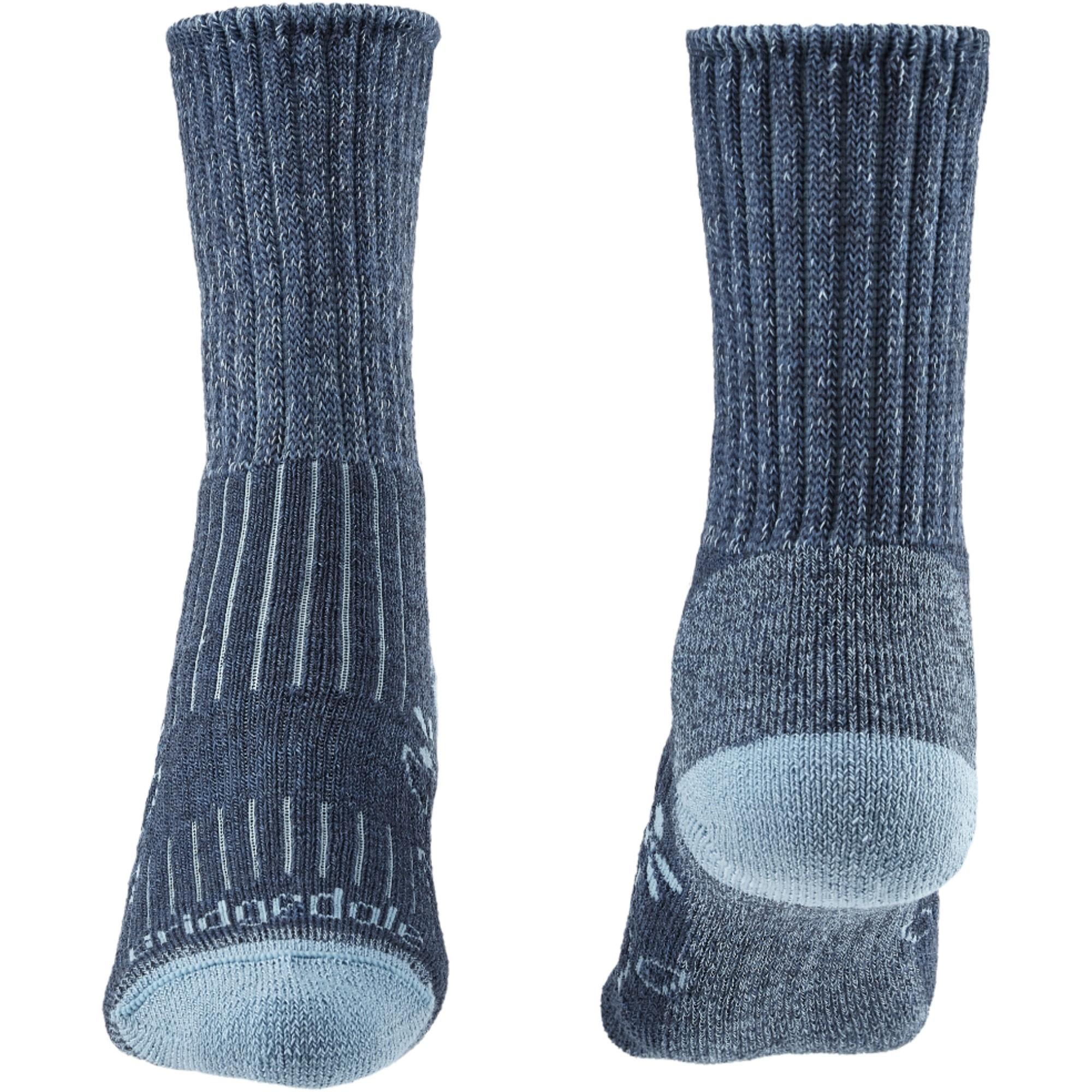 Bridgedale Hike Midweight Merino Comfort Women's Socks - Blue