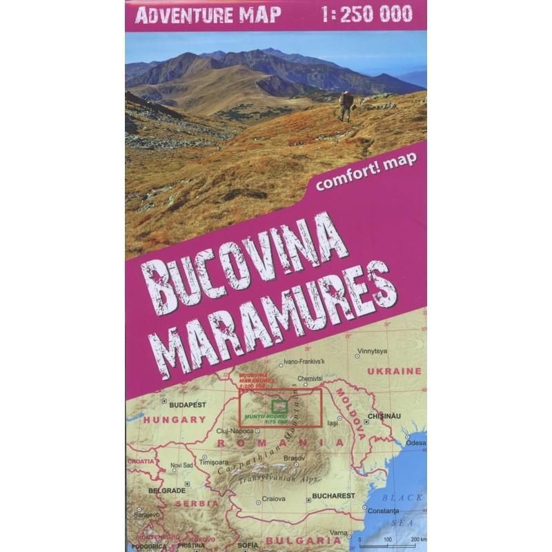 Bucovina Maramures Adventure Map: terraQuest