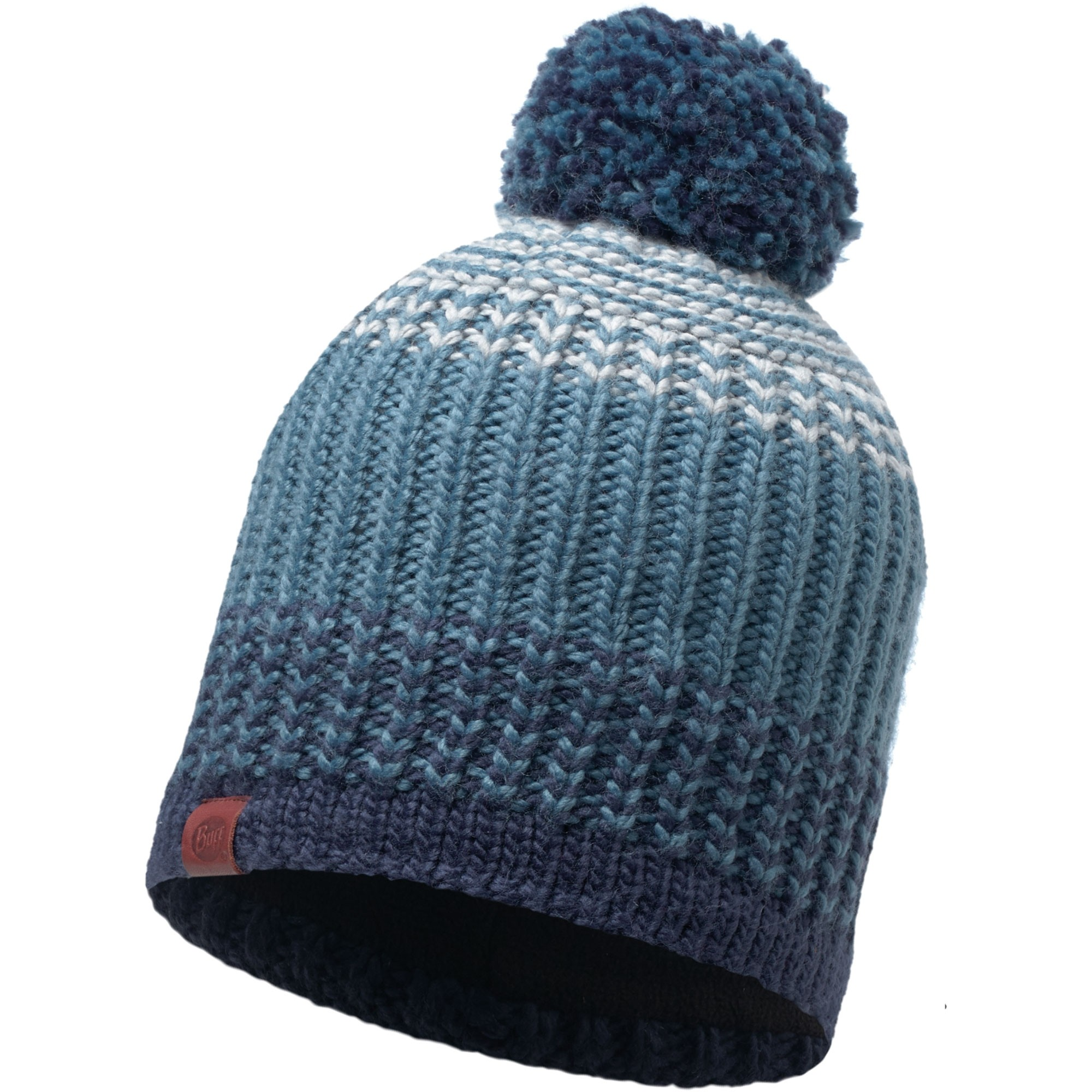 Buff Borae Knitted Hat - Mazarine Blue