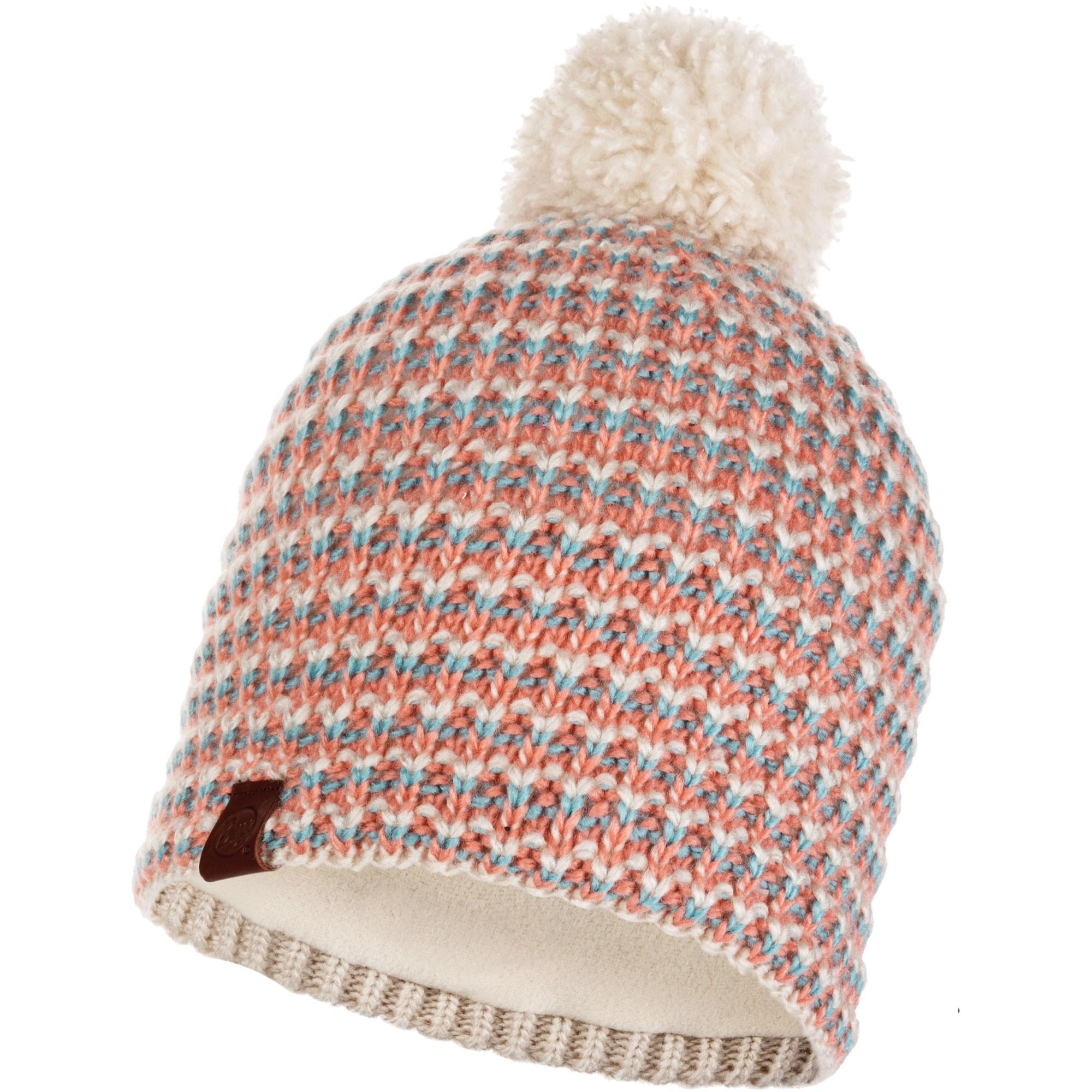 Buff Dana Knitted Bobble Hat - Multi
