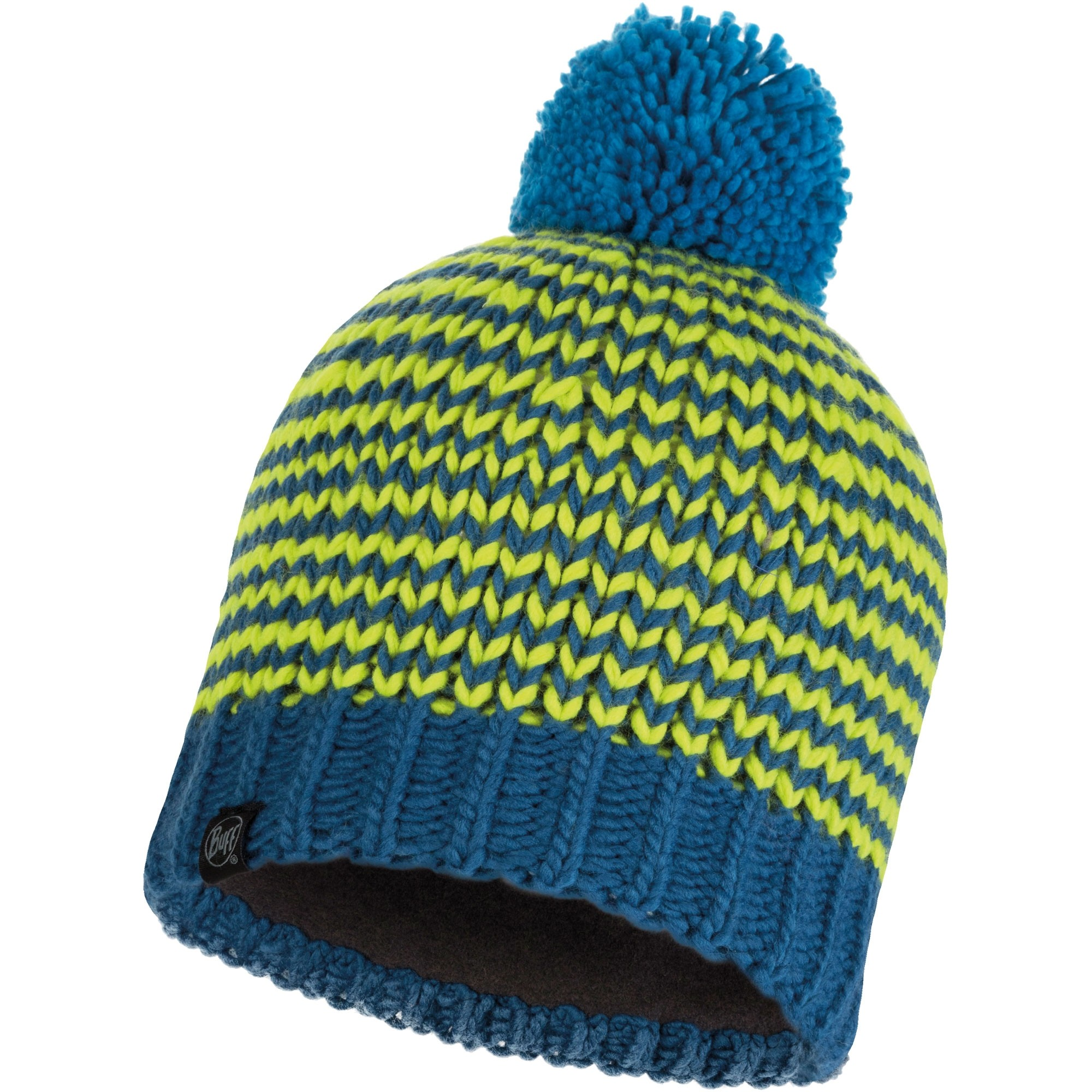 Buff Dorn Knitted Hat - Moroccan Blue