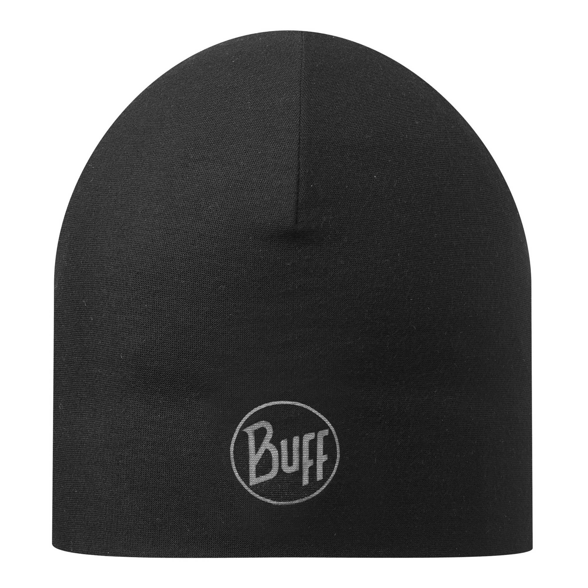 Buff Double Layer Microfibre Hat - Black