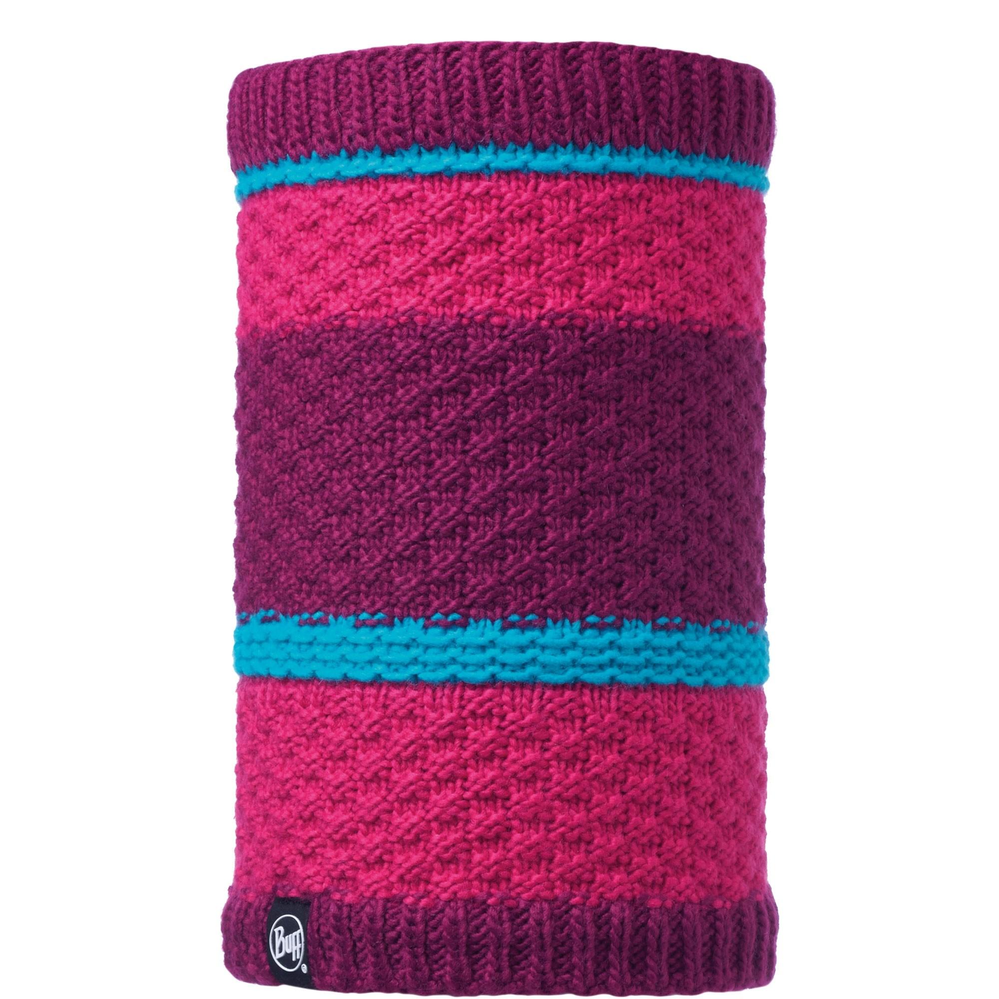 Buff Fizz Knitted Fleece Neckwarmer - Pink Honeysuckle