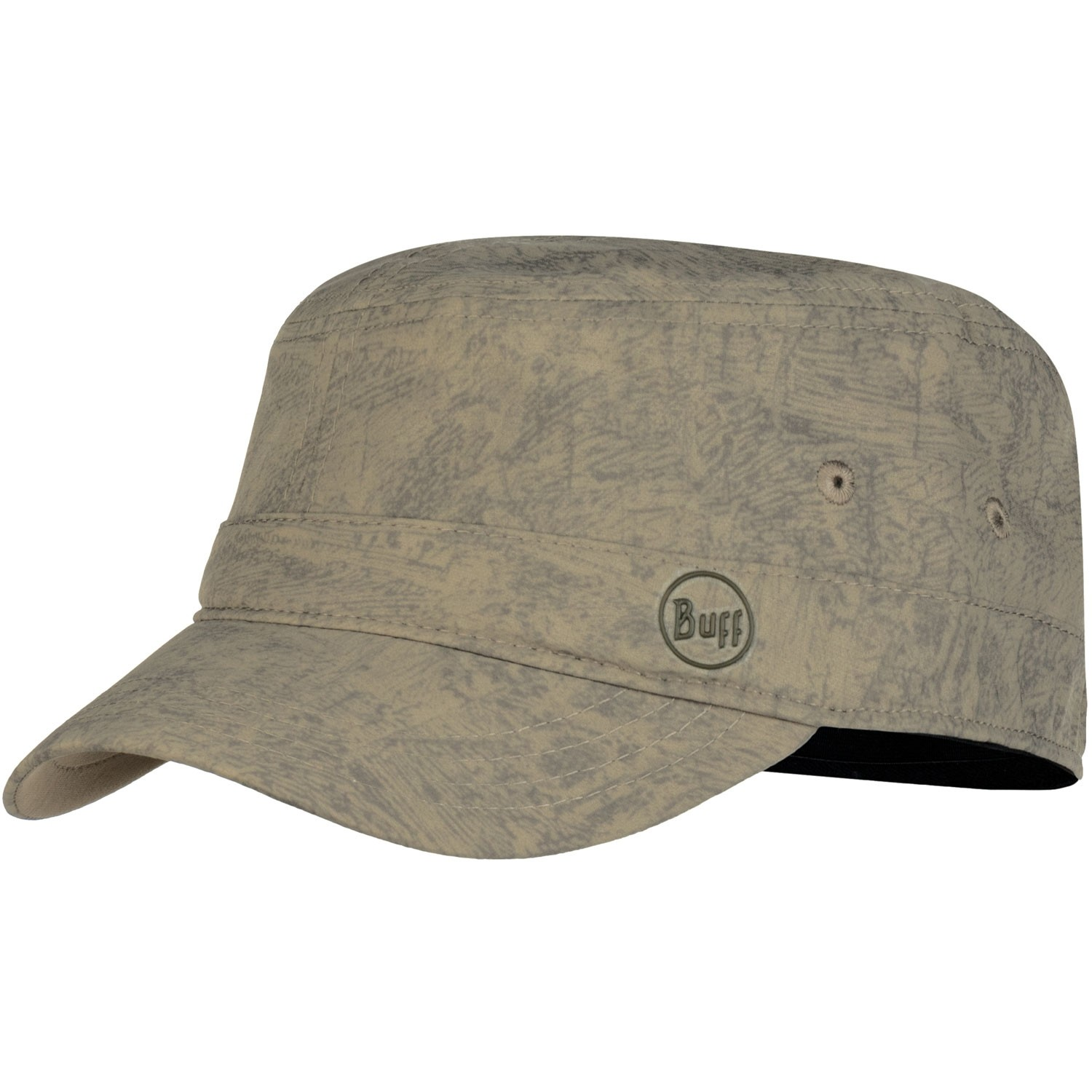 Buff Military Cap - Zinc Taupe Brown