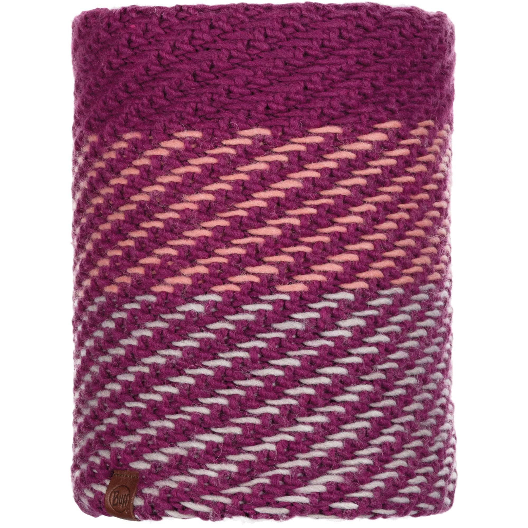 Buff Nella Knitted Neckwarmer - Purple/Raspberry