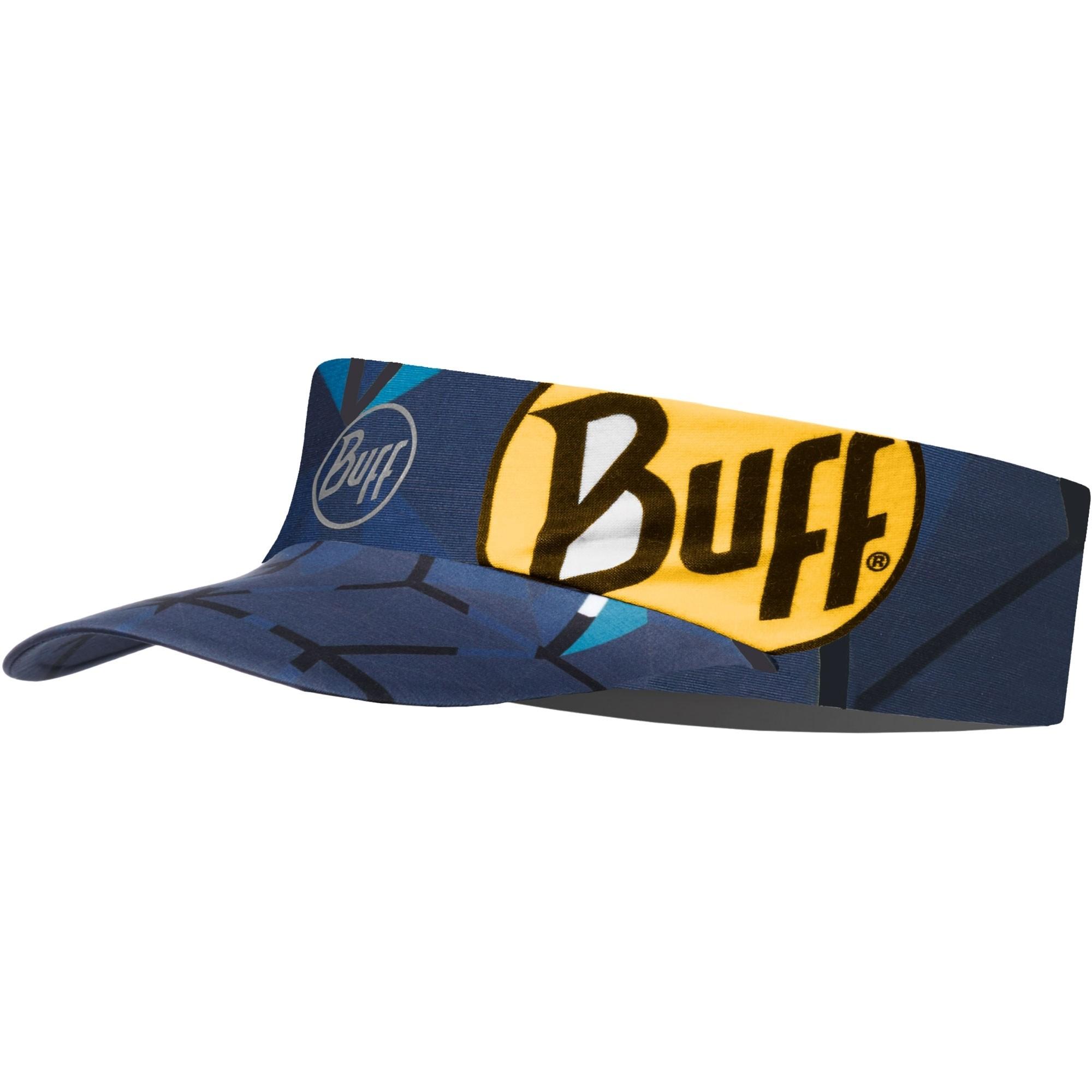 Buff Pack Run Reflective Visor - Helix/Ocean
