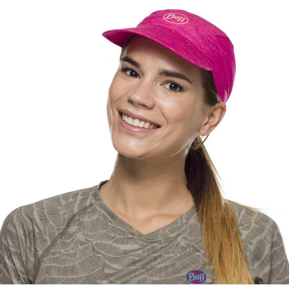 Buff Pack Run Cap - Pink Heather