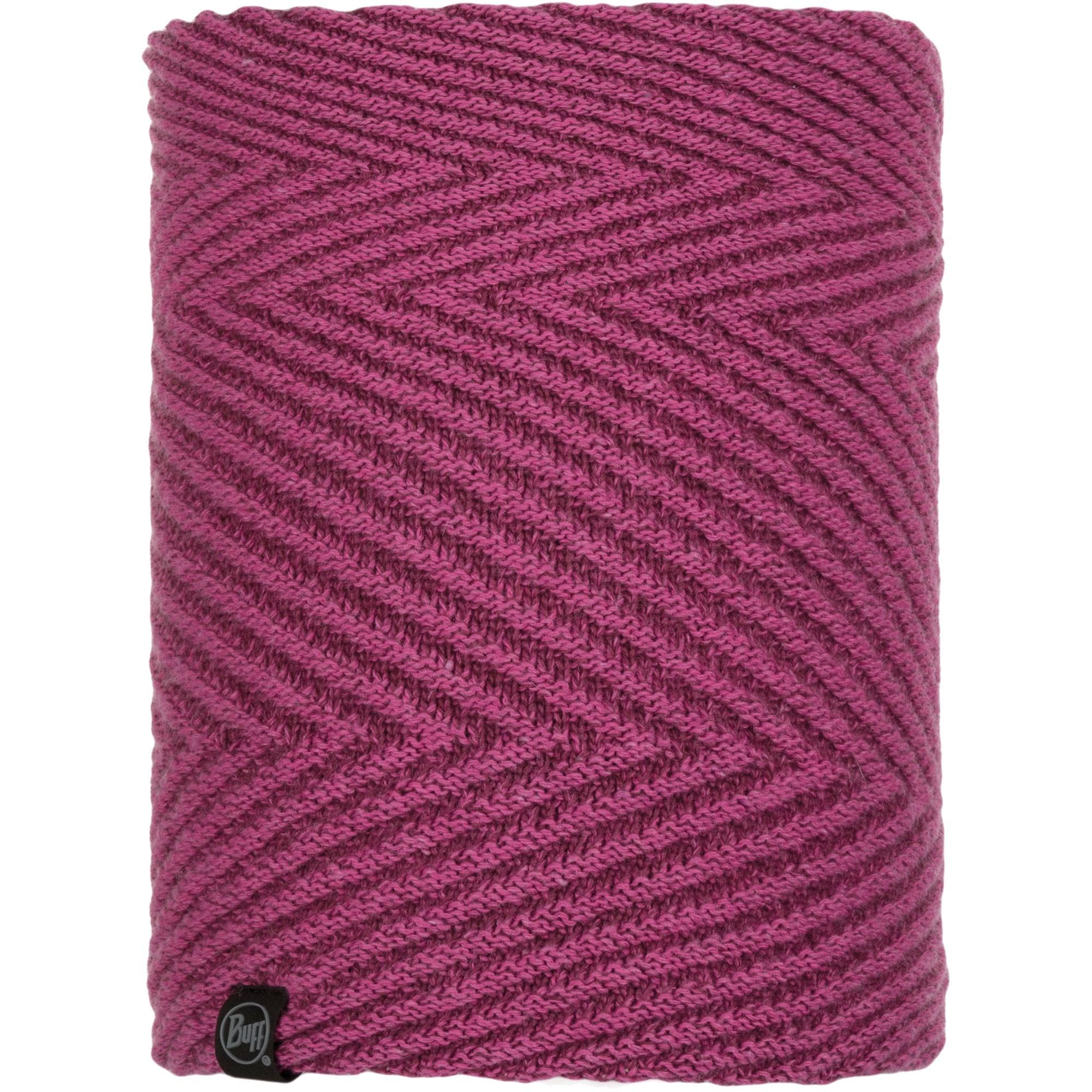 Buff Silja Knitted Neckwarmer - Purple