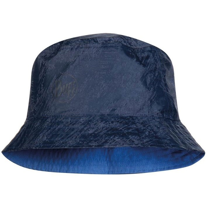 Buff Travel Bucket Hat - Rinmann Blue