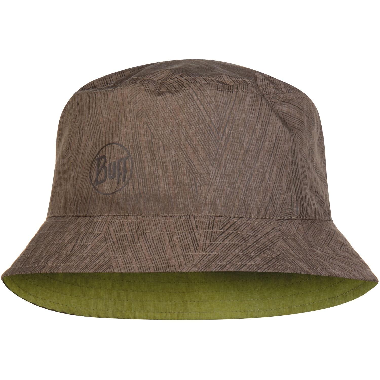 Buff Travel Bucket Hat - Shady Khaki