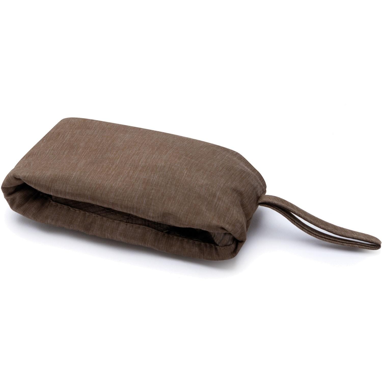 Buff Travel Bucket Hat - Shady Khaki - packed