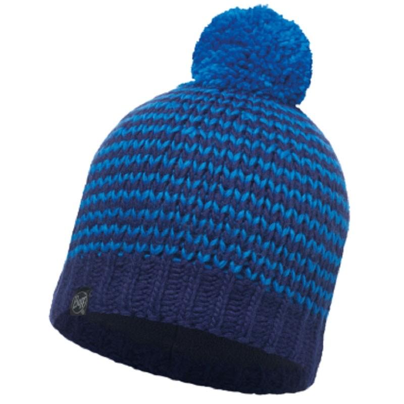Buff Dorn Knitted Hat - Blue