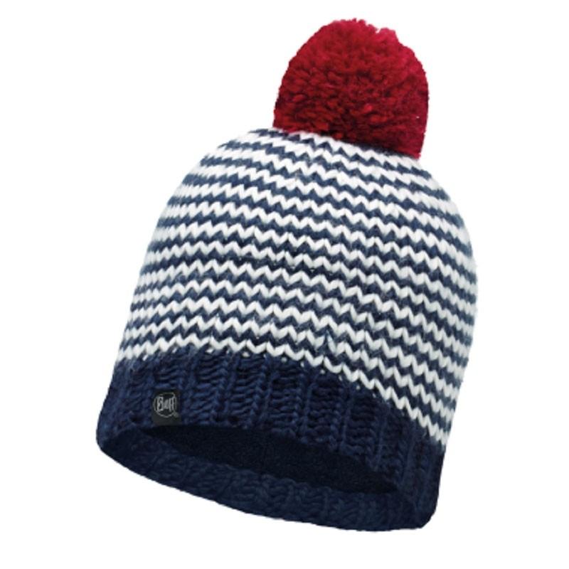Buff Dorn Knitted Hat - Navy-Navy