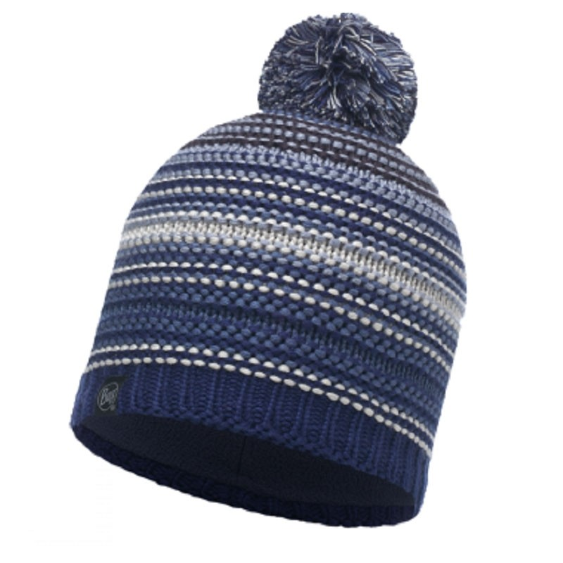 Buff Neper Hat - Blue Ink