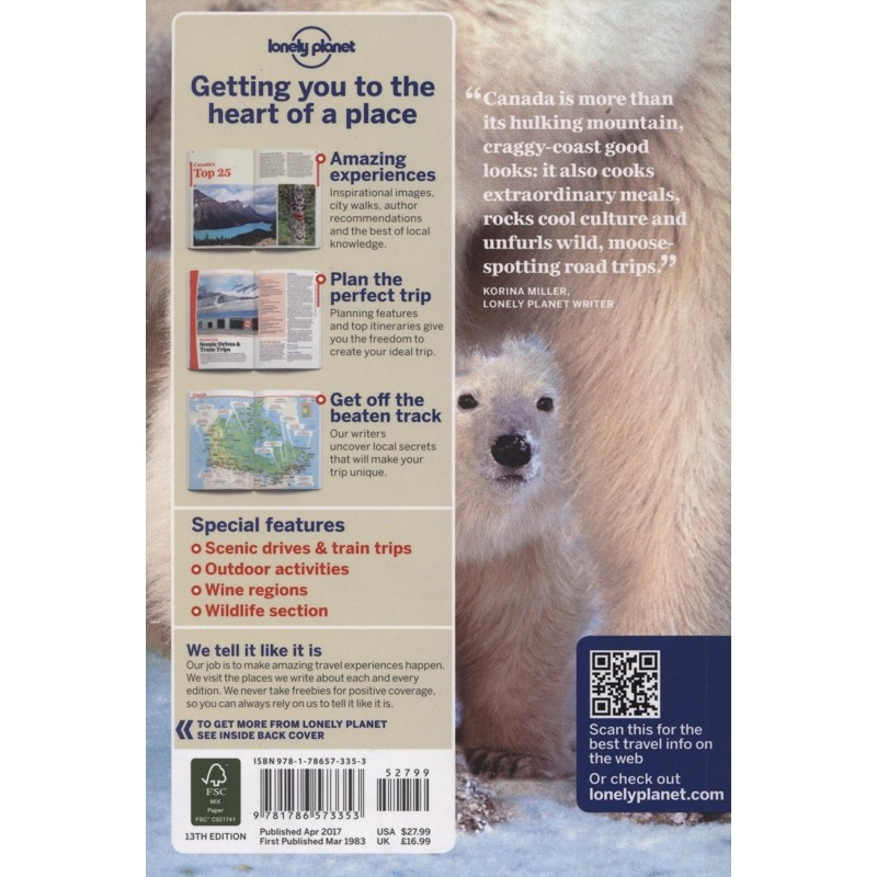 Canada: Lonely Planet Travel Guide