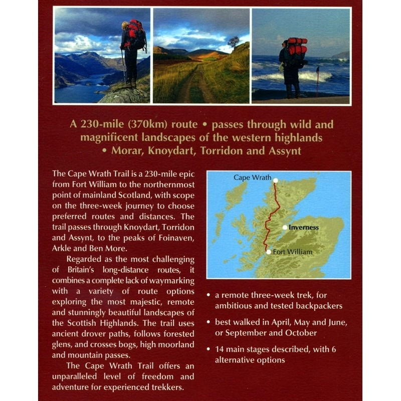Walking the Cape Wrath Trail by Cicerone