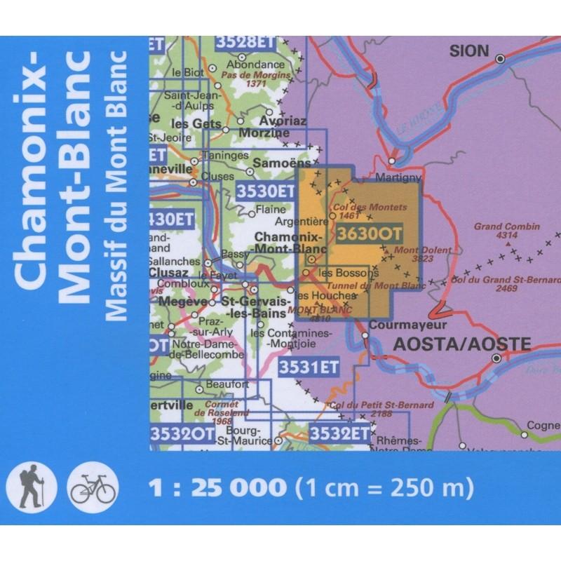 Chamonix-Mont-Blanc: Massif du Mont Blanc 3630 OTR