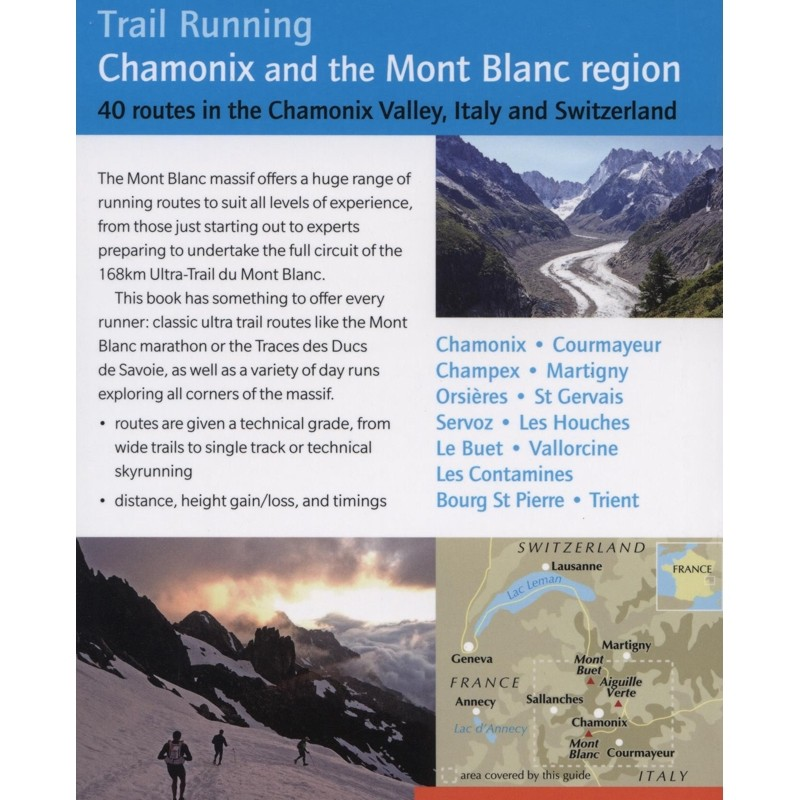 Chamonix and the Mont-Blanc region: Trail Running by Cicerone