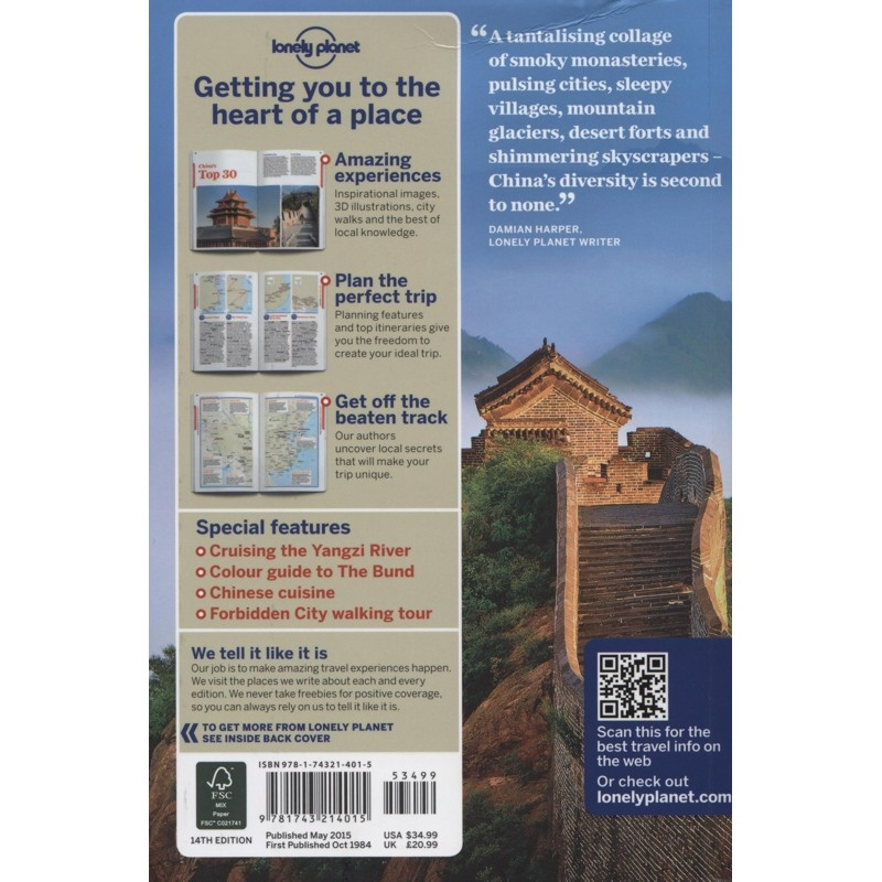 China: Lonely Planet by Lonely Planet
