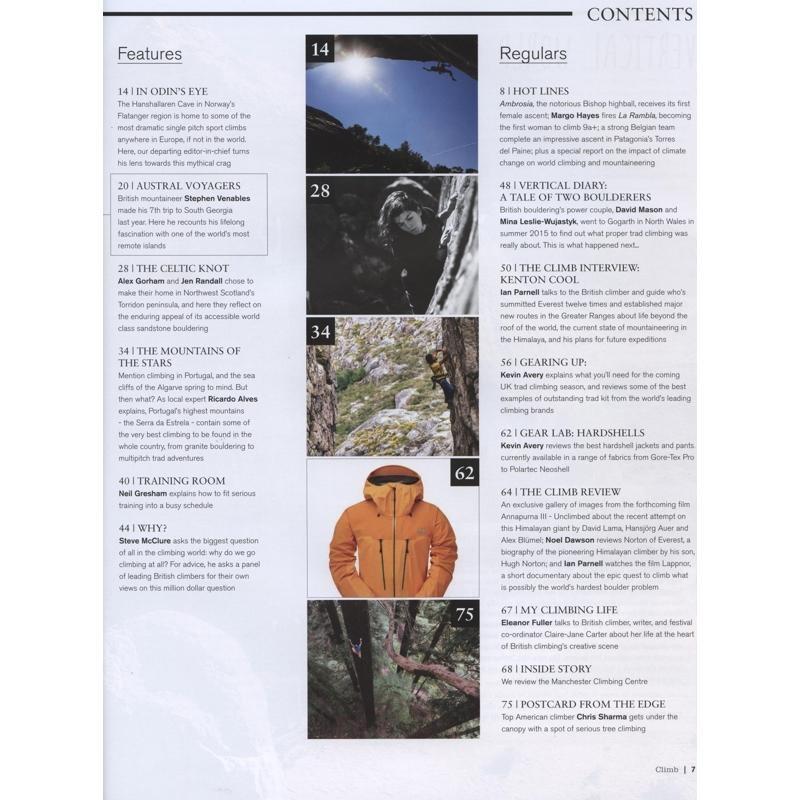 Climb: September/October 2017: Issue 140