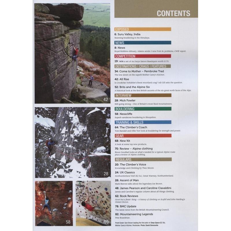 Climber: September-October 2017