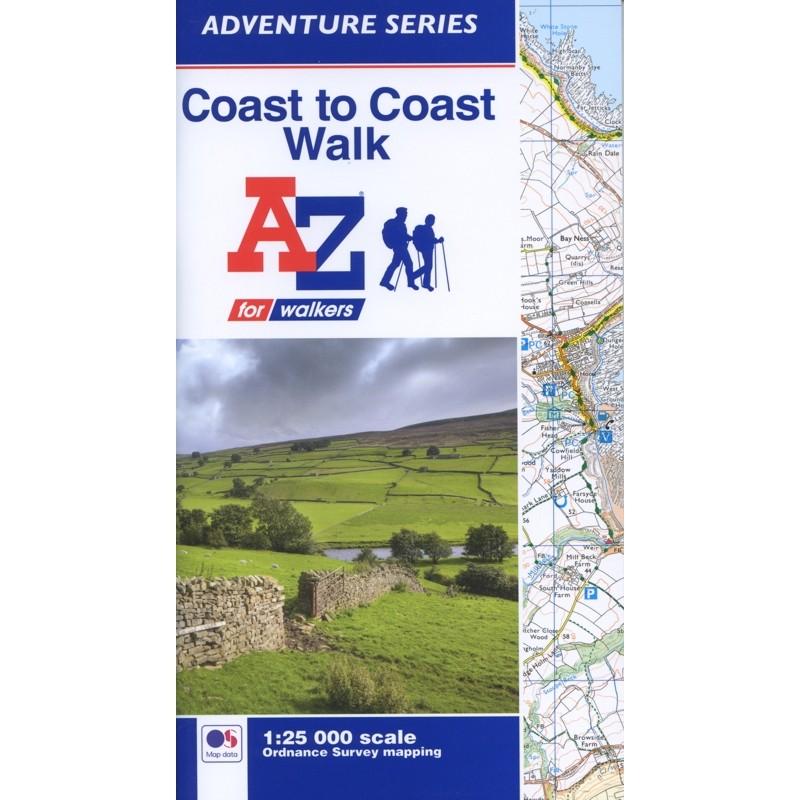 Coast to Coast Walk A-Z Adventure Atlas