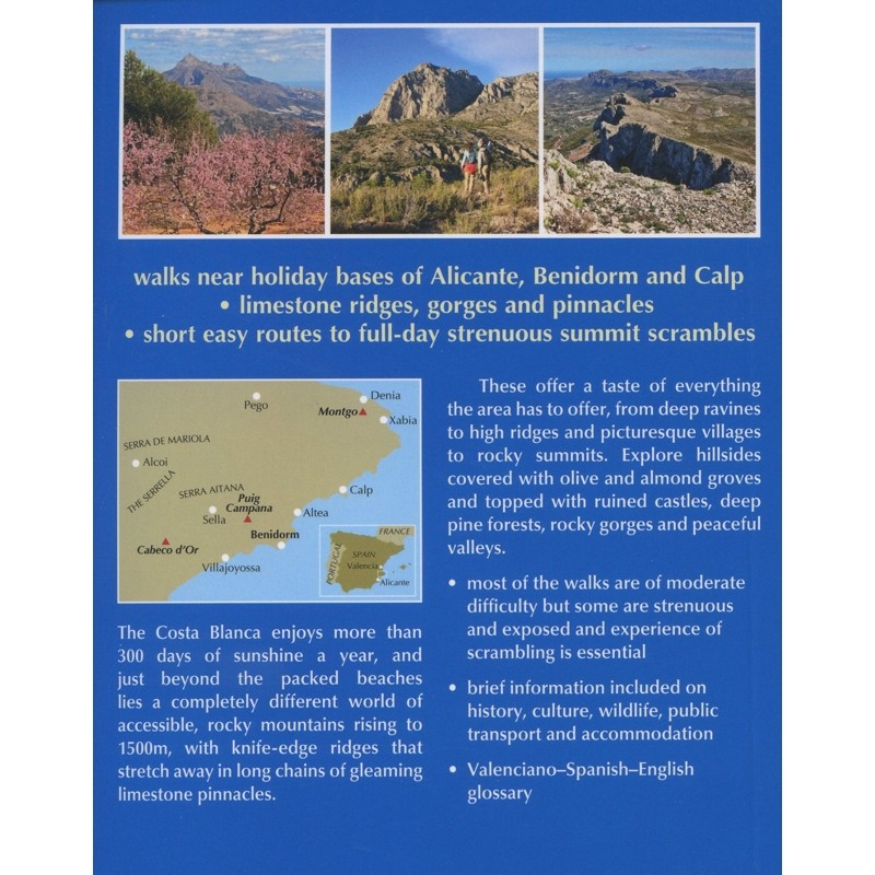 Walking on the Costa Blanca: 50 mountain walks and scrambles by Cicerone